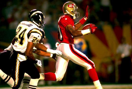 Rice in meta nel Super Bowl XXIX