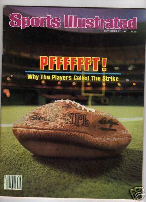 La copertina di SI dedicata allo sciopero del 1982