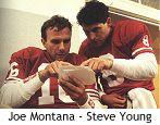 Joe Montana insegna a Steve Young il West Coast Offense