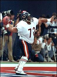 William Perry segna un TD al Super Bowl XX